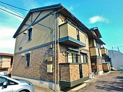 神奈川県相模原市中央区上矢部3丁目の賃貸アパートの外観