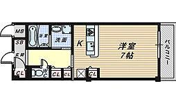 サニーキャンプ東雲1.2[2階]の間取り