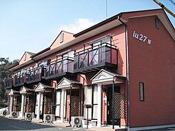 静岡県菊川市西方の賃貸アパートの外観