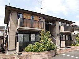埼玉県狭山市広瀬3丁目の賃貸アパートの外観