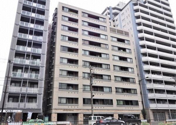 東京都目黒区下目黒2丁目の賃貸マンションの外観