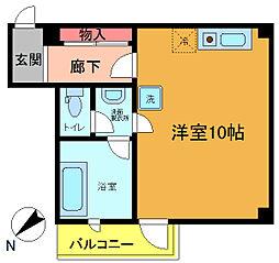 シンエイ第7船橋マンション[304号室]の間取り