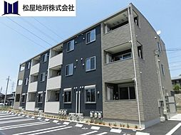 愛知県豊橋市江島町の賃貸アパートの外観