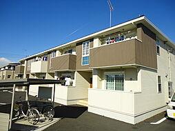 茨城県下妻市柴の賃貸アパートの外観