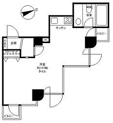GRAND駒沢公園[2階]の間取り