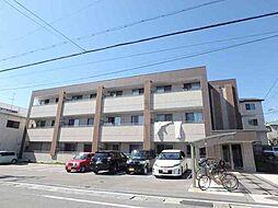 大阪府豊中市永楽荘2丁目の賃貸マンションの外観