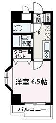 埼玉県和光市本町の賃貸マンションの間取り