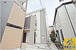 千葉県千葉市花見川区検見川町3丁目の賃貸アパートの外観