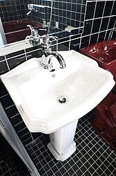 ディア磯子の洗面所