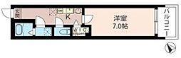 T-net フォレスト西所沢[205号室]の間取り