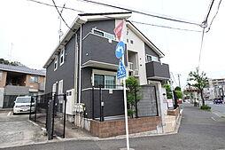 神奈川県横浜市港北区高田西4丁目の賃貸アパートの外観
