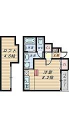 あんしん船堂町[1階]の間取り