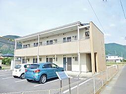 長野県千曲市大字寂蒔の賃貸アパートの外観