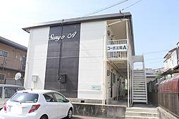 愛知県岡崎市堂前町1丁目の賃貸アパートの外観