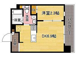 DHガーデン平尾[9階]の間取り