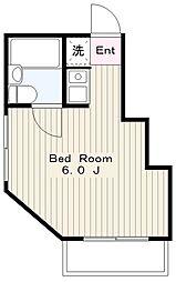 エクセルマンション相模[401号室]の間取り