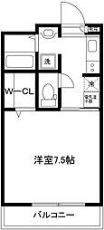 レガーロ武蔵中原[303号室]の間取り