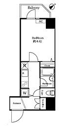 ステージファースト西新宿II[303号室]の間取り