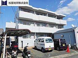 愛知県豊橋市牛川通3丁目の賃貸マンションの外観
