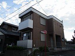 愛知県岡崎市柱6丁目の賃貸アパートの外観