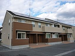 茨城県下妻市下妻丙の賃貸アパートの外観