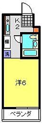 M−STAGE−III[301号室]の間取り