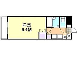 倉敷ライフ・キャンパス C棟[301号室]の間取り