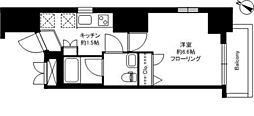 D−Blanc[9階]の間取り
