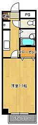 昭代タカモクビル[202号室]の間取り