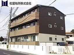 愛知県豊橋市向山町字川北の賃貸アパートの外観