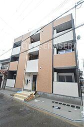 大阪府大阪市旭区清水1丁目の賃貸アパートの外観
