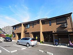 兵庫県神戸市須磨区多井畑字前所の賃貸アパートの外観