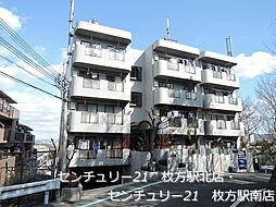 大阪府枚方市高塚町の賃貸マンションの外観