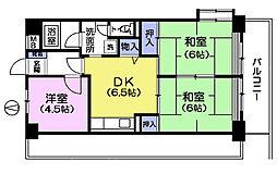 メゾン武蔵関[1階]の間取り