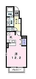 サンパティークIII[1階]の間取り