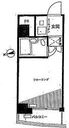 シティプラザ南麻布[7階]の間取り