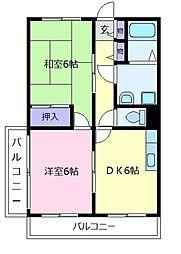リーアルマンション[2階]の間取り