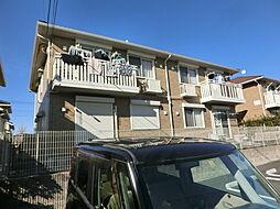 千葉県市原市南国分寺台5丁目の賃貸アパートの外観