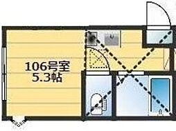 アーヴェル浅間台[1階]の間取り