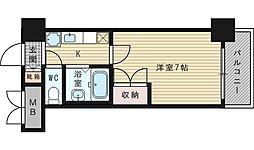 ローズコーポ新大阪9[9階]の間取り