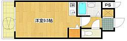 第21新井ビル[402号室]の間取り