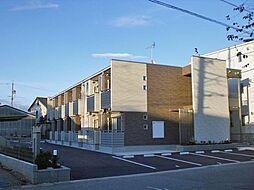 愛知県岡崎市日名本町の賃貸アパートの外観