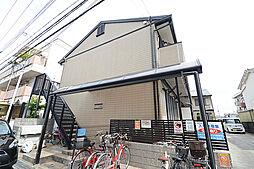 大阪府堺市北区北花田町4丁の賃貸アパートの外観