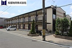 愛知県豊川市新豊町1丁目の賃貸アパートの外観