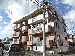 東京都東大和市清水6丁目の賃貸マンションの外観