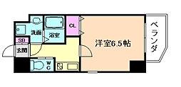 ララプレイス京町堀プロムナード[4階]の間取り
