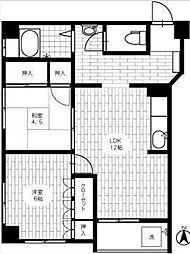 横浜ハイツ[2階]の間取り