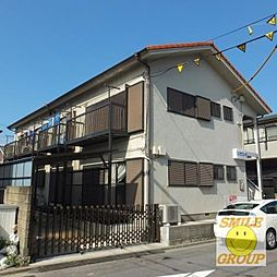 布川コーポ[203号室]の外観