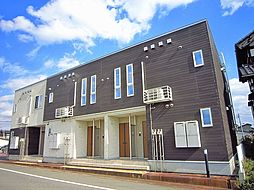 新潟県見附市熱田町の賃貸アパートの外観