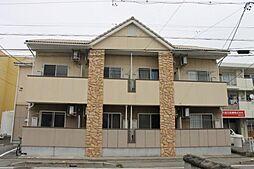 愛知県岡崎市上里1丁目の賃貸アパートの外観